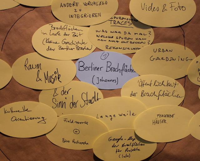 Thema: Berliner Brachflächen